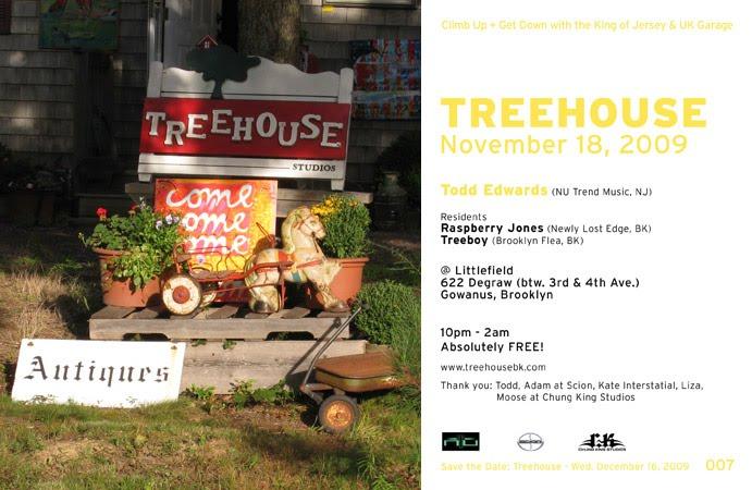 Treehouse 007 flyer
