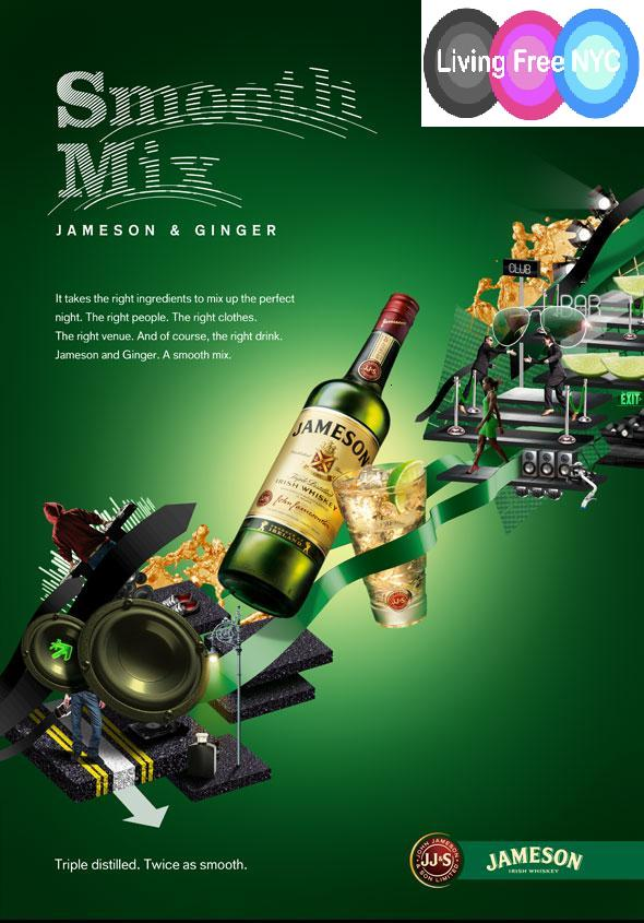 Free Jameson and Ginger | Living Free NYC