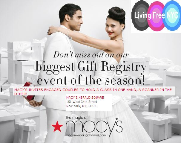 Friday Date Night At Macys, Wedding & Gift Registry Event Living ...