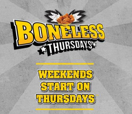 Jul 07,  · how does boneless thursdays work at buffalo wild wings.