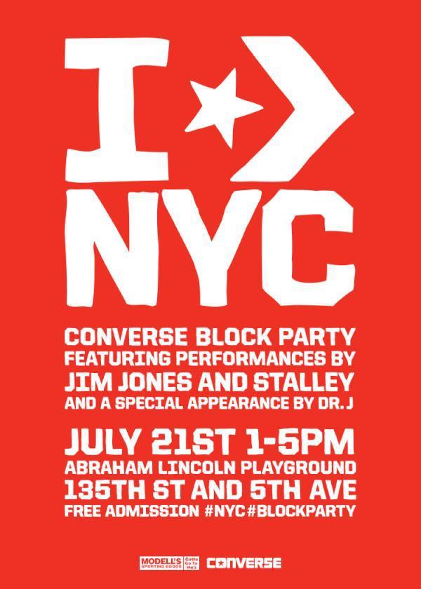 Nyc Converse Converse Block Party Nyc