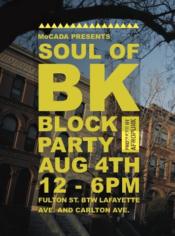 MoCADA & Afropunks Soul Of Brooklyn Block Party