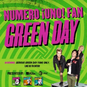 Green Day Numero Uno Contest!