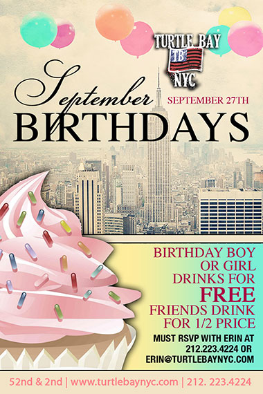 September Birthday Bash!