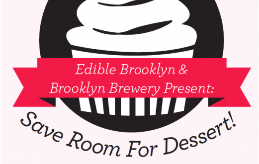 SAVE ROOM FOR DESSERT AT BROOKLYN BREWERY