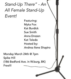 SAW HER STAND-UP THERE: ALL FEMALE STAND-UP
