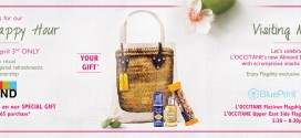 Spring Happy Hour Event at L'OCCITANE