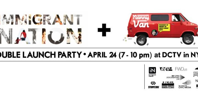 Immigrant Nation + NannyVan NYC Launch Party