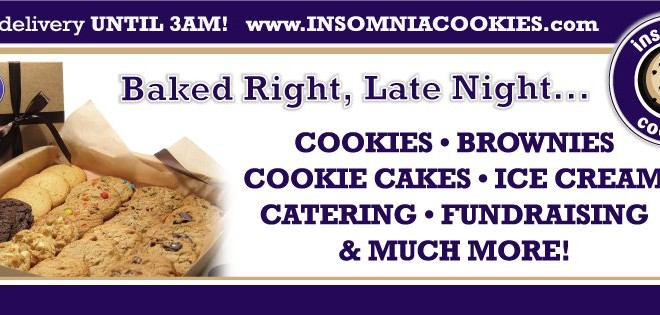 Free Cookie From Insomnia Cookies