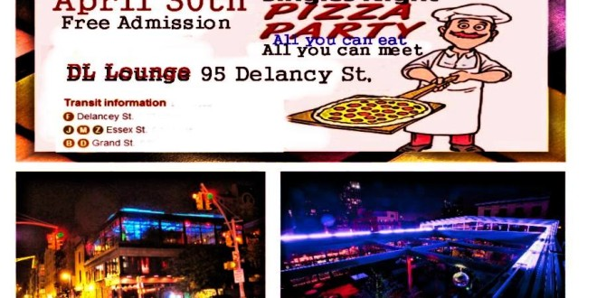 The Ultimate Largest Indoor Free Pizza Party Singles Night