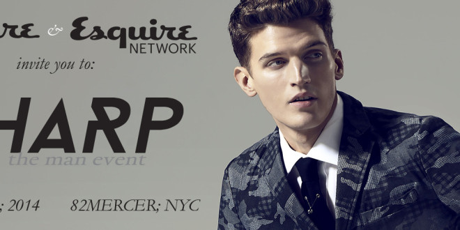 Esquire Presents Sharp: The Man Event