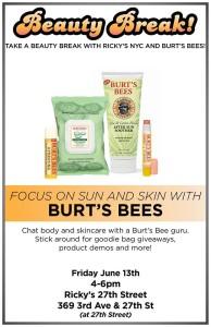 Burts Bees Beauty Break