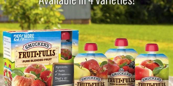 SMUCKER'S FRUIT-FULLS LAUNCH