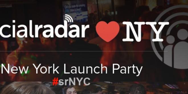 SocialRadar NYC Launch Party