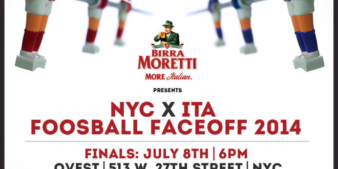 Moretti Foosball Faceoff II