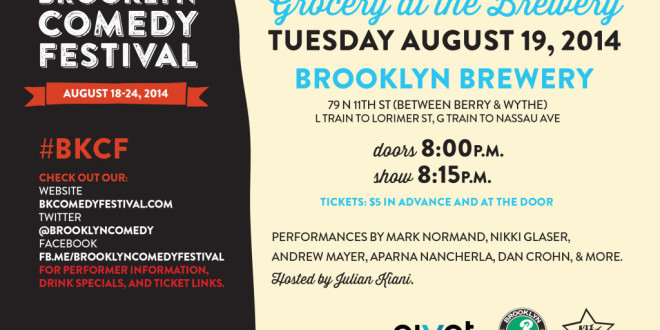 Brooklyn Comedy Festival Presents: Grocery at the Brewery