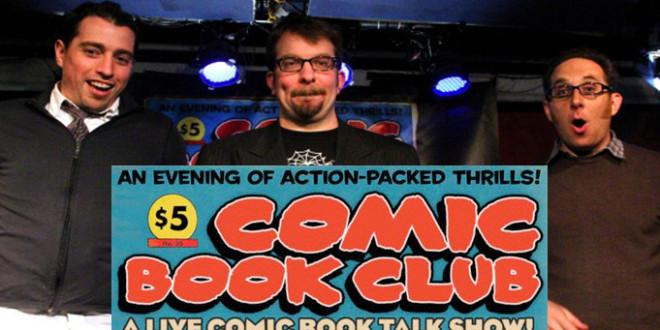 Comic Book Club, Live Comic Book Talk Show