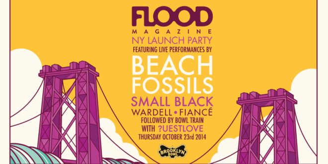 FLOOD Magazine NY Launch Party & CMJ Showcase