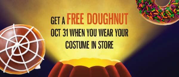 Krispy Kreme Halloween Costume Party
