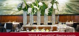 Zagat 2015 Top NYC Restaurants Freeebies
