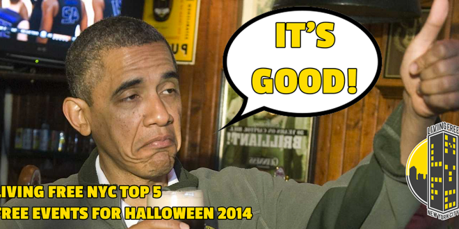 Top 4 Free NYC Halloween Events 2014
