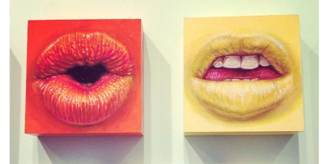 Camilla D'Errico and Hikari Shimoda Art Show