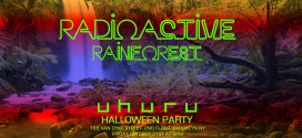 Radioactive Rainforest Halloween Party