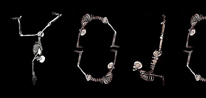YoJo & Without Walls Present: Yoga Skeleton Pose