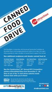 Canned Food Donate Canstruction