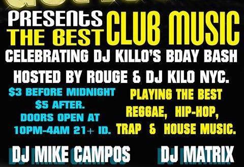 Get Loose w/ DJ Mike Campos, DJ Matrix, DJ Sean Shoota, and DJ Arsonel