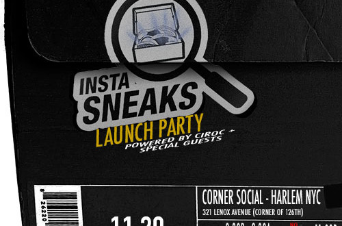 InstaSneaks Launch Party