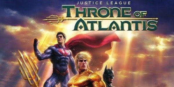 Justice League: Throne of Atlantis Premiere