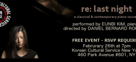 "Open Stage Concert: Eunbi Kim's ""re: last night"""
