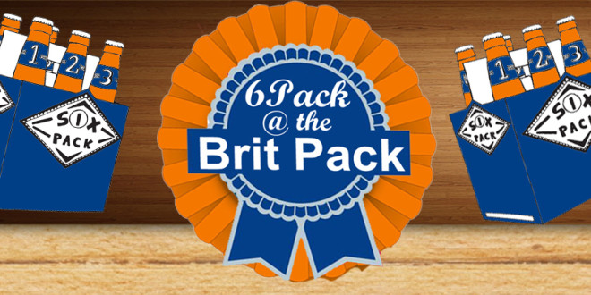 6 PACK at BRIT PACK COMEDY SHOW