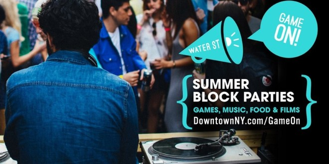 Game On! Summer Block Party