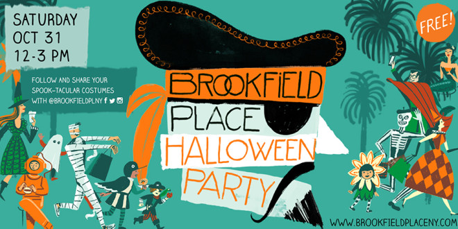 Brookfield Place Halloween Party