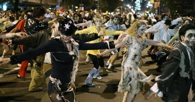 New York City's 42nd Annual Village Halloween Parade