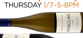 Syncline Winery Free Tasting