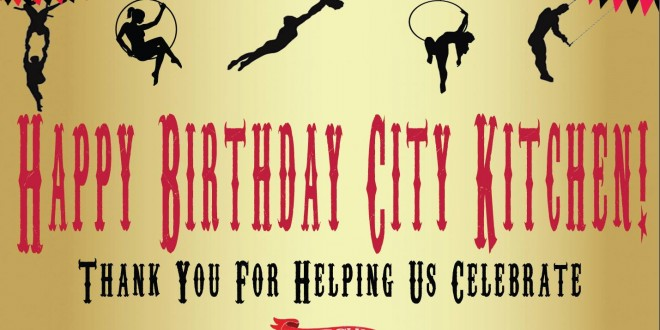 City Kitchen's First Birthday Party