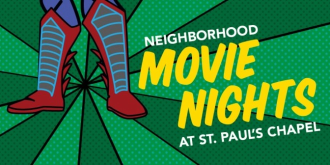 Neighborhood Movie Nights 2016: Superhero Series