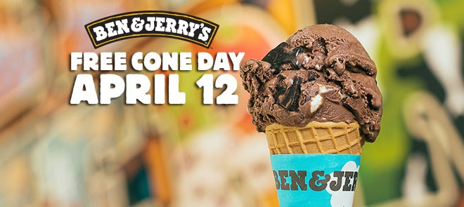 Ben & Jerry's Free Cone Day 2016