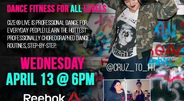CIZE Live at Reebok's FitHub in Union Square